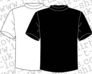 Mens I love T-shirts sizes