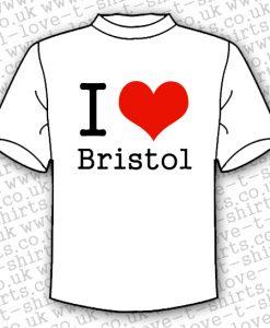 I Love Bristol T-shirt