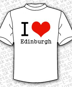 I Love Edinburgh T-shirt