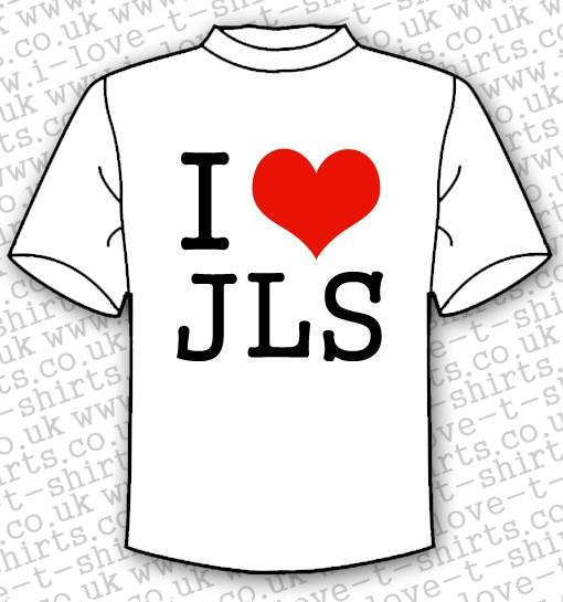 I Love JLS T-shirt 1