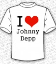 I Love Johnny Depp T-shirt