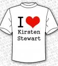 I Love Kirsten Stewart T-shirt