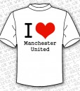 I Love Manchester United T-shirt