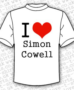 I Love Simon Cowell T-shirt
