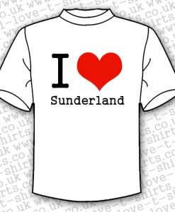 I Love Sunderland T-shirt