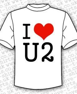I Love U2 T-shirt