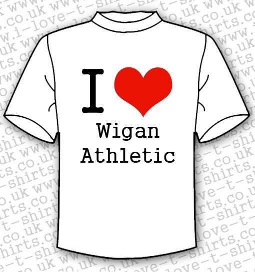 I Love Wigan Athletic T-shirt 1