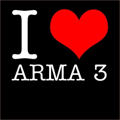 I Love Arma 3 T-Shirt