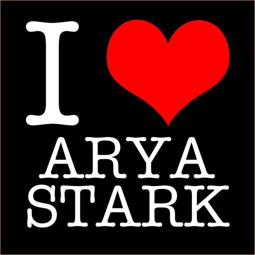 I Love Arya Stark T-shirt