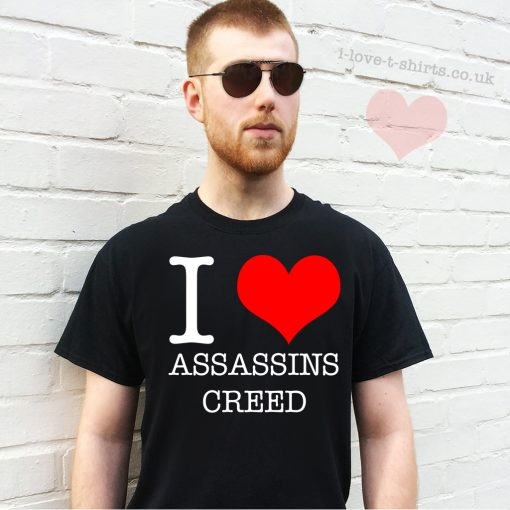 I Love Assassins Creed T-Shirt