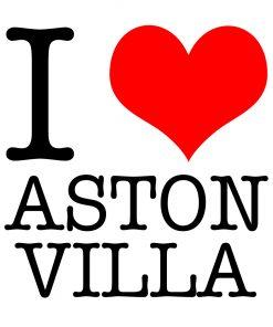 I Love Aston Villa T-shirt