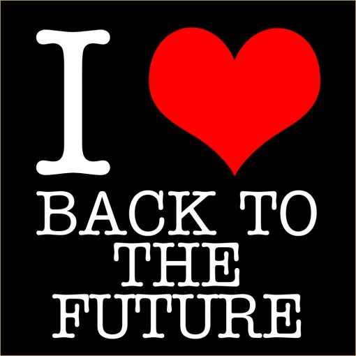 I Love Back to the Future T-Shirt