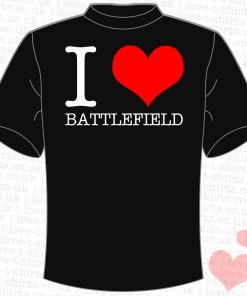 I Love Battlefield T-Shirt