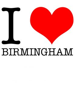 I Love Birmingham T-shirt