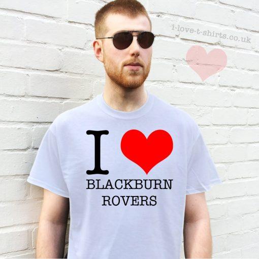 I Love Blackburn Rovers T-shirt