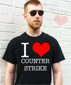 I Love Counter Strike T-Shirt