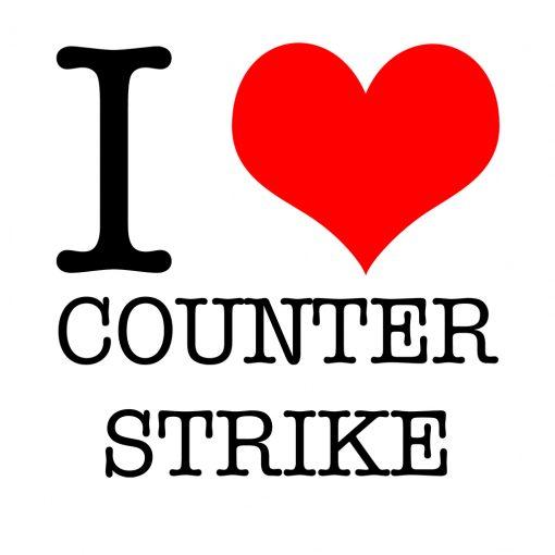 I Love Counter Strike T-Shirt