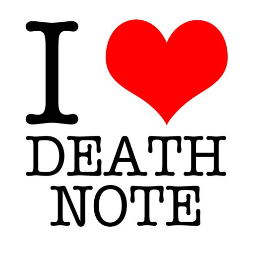 I Love Death Note T-Shirt