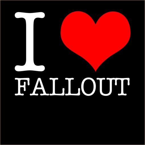 I Love Fallout T-Shirt
