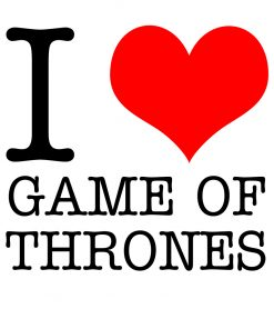 I Love Game of Thrones T-Shirt