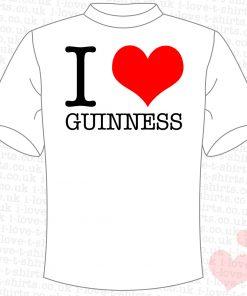 I Love Guinness T-Shirt