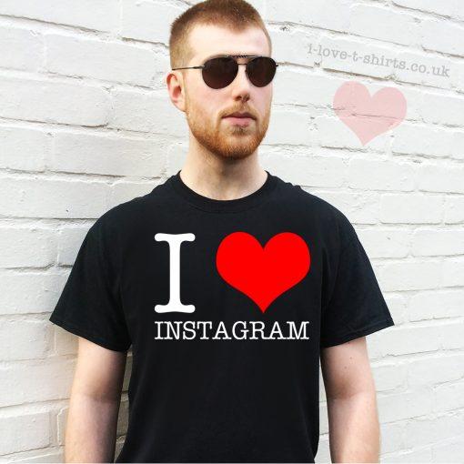 I Love Instagram T-Shirt
