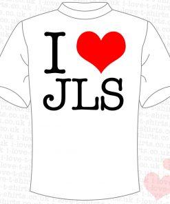 I Love JLS T-shirt