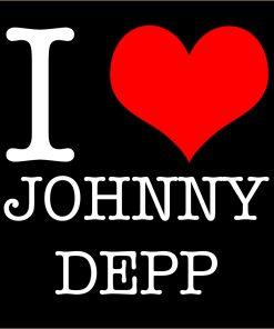 I Love Johnny Depp T-shirt