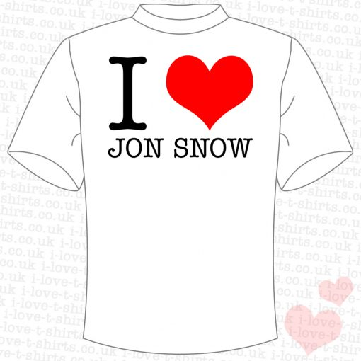 I Love Jon Snow T-shirt