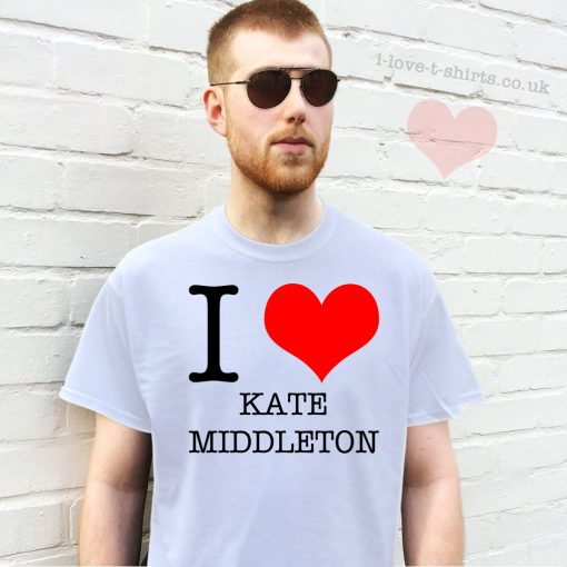 I Love Kate Middleton T-shirt
