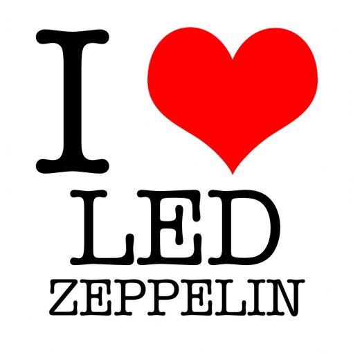 I Love Led Zeppelin T-shirt