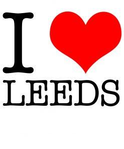 I Love Leeds T-shirt