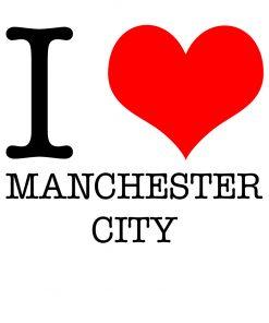 I Love Manchester City T-shirt