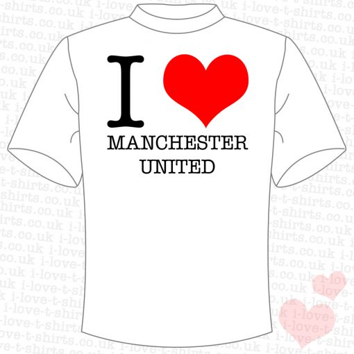 I Love Manchester United T-shirt