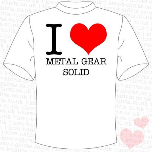 I Love Metal Gear Solid T-Shirt
