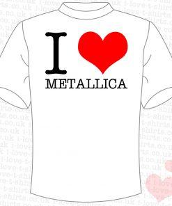 I Love Metallica T-shirt