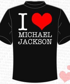 I Love Michael Jackson T-shirt