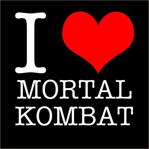 I Love Mortal Kombat T-Shirt