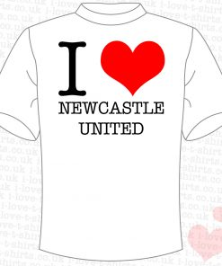 I Love Newcastle United T-shirt