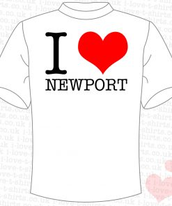 I Love Newport T-shirt