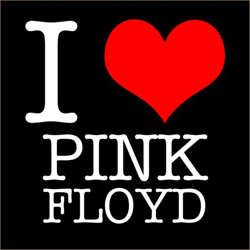 I Love Pink Floyd T-shirt