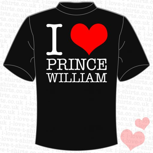 I Love Prince William T-shirt