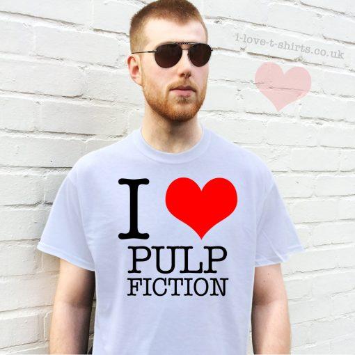 I Love Pulp Fiction T-Shirt