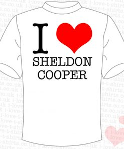 I Love Sheldon Cooper T-shirt
