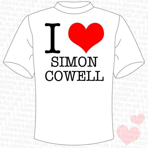 I Love Simon Cowell T-shirt