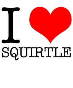 I Love Squirtle T-Shirt