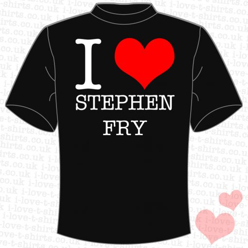 I Love Stephen Fry T-shirt