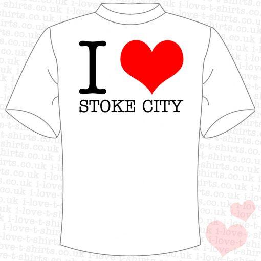 I Love Stoke City T-shirt