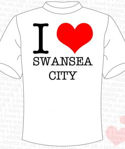I Love Swansea City T-shirt