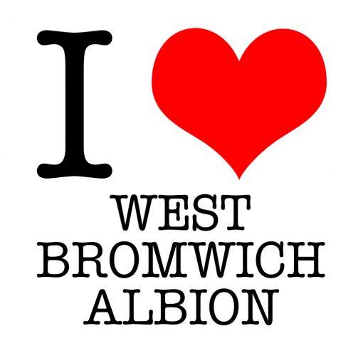 I Love West Bromwich Albion T-shirt